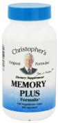 Dr. Christophers Formulas 0611897 Memory Plus Formula 450 mg 100 Veggie Caps - 100 Caps