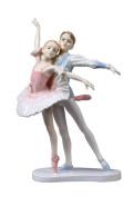 Unicorn Studios BP00535AA Perfect Partner Ballet Dancers Porcelain Sculpture