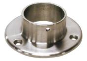 Hardware Distributors L44 530 2 5.1cm . Wall Flange - Satin Stainless Steel