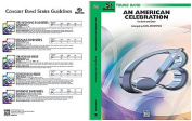 Alfred 00-BDM01017 An American Celebration- for Band and Choir - Music Book