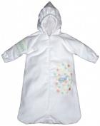 Dee Givens & Co-Raindrops 84300 Blue Whale Bubbles n Stripes Bath Bag - Blue - Layette