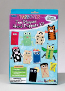 Rite Lite TYKP-BAGS Passover 10 Plagues Puppet Kit