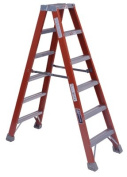 Louisville Ladder 443-FM1506 1.83m Fibreglass Twin Stepladder Type 1A