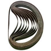 Astro Pneumatic ASTBSP80 10Pk Sanding Belt 80 Grit 3-20.3cm X 33cm . 10-Pack