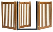 Dynamic Accents 42624 80cm Walk-Through 3 Panel Free Standing Gate Artisan Bronze