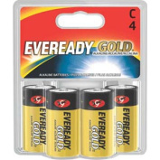 Eveready Gold 4 C Alkaline Batteries