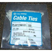 10.2cm Natural Cable Ties, Qty 100
