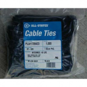20.3cm Black Cable Ties, Qty 1000