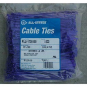 20.3cm Purple Cable Ties, Qty 1000