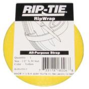 Rip-Tie RipWrap 1.3cm x 30' Yellow
