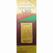 Linrose B4301F1 T1 Two Colour LED with Mounting Lens, Red/Green