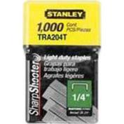 0.6cm LIGHT DUTY STAPLES / 1,000 UNITS / STANLEY / TRA204T