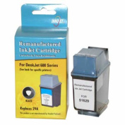 Innojet Compatible Black Ink Cartridge For HP 51629A