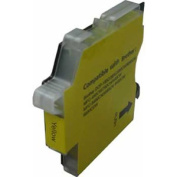 Compatible Yellow Ink Cartridge for Brother LC61 / LC65 High Capacity