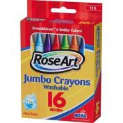 RoseArt 16 Jumbo Crayons
