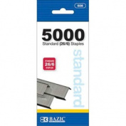 Bazic 5000 Count Standrd 26/6 Staples