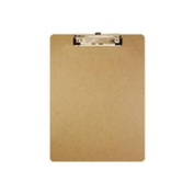 Bazic Standard Letter Size Clipboard with Low Profile Clip.