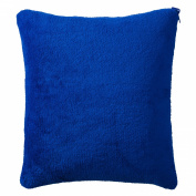 Travel Smart Convertible Pillow Blue/White