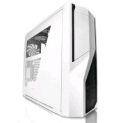 NZXT Phantom 410 Crafted Mid Tower Chassis, (White, USB 3.0) - No PSU include