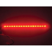 Logisys 30.5cm 18 LED Super Bright Sunlight Stick Red