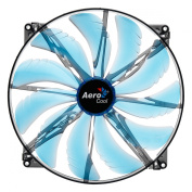 AeroCool EN55642 Silent Master 200mm Computer Case Fan, Blue