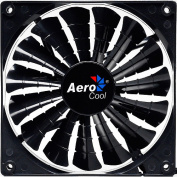AeroCool EN55451 Shark 140mm Case Chassis Gamer Fan, Black