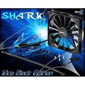 AeroCool EN55413 Shark 120mm Case Chassis Gamer Fan, Black