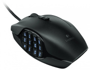 Logitech G600 MMO Gaming Mouse, Black
