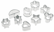 Pedrini 9 Assorted small Cookie Cutters
