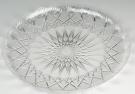 Pedrini 2 Transparent Acrylic Round Trays - 33cm