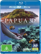 Papua 3D The Secrect Island of Cannibals [Blu-ray 3D] [Region 4] [Blu-ray]