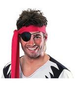Rubies Pirate Pack Earing & Eyepatch