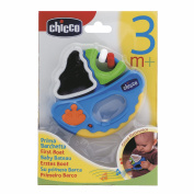 Chicco 12cm First Boat Musical Rattle Nursery Toy