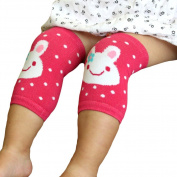 3 Pair LOCOMO Baby Unisex Knee Elbow Pad Warmer Crawling Protect Cover FBA031pc3