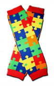 Precious Eggs Unisex-Baby Colourful Puzzles Leg Warmer Puzzle