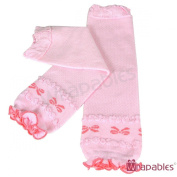 Wrapables Dots, Hearts, and Ruffles Colourful Baby Leg Warmers