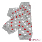 Wrapables Stars, Stripes, and Solids Colourful Baby Leg Warmers