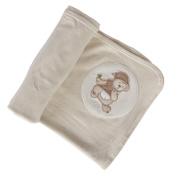 Cotton Jersey Swaddling Wrap - Animal print