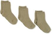 Jefferies Socks Baby-boys Infant Rib Crew Socks 3 Pair Pack
