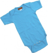 Turquoise Baby Onesie - Short Sleeve By Baby Milano