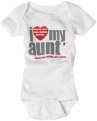Sara Kety Unisex-Baby Newborn I Love My Aunt One