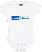 """Friends Like Me"" Onesie/Bodysuit"