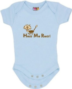 """Hear Me Roar"" Blue Bodysuit/Onesie"