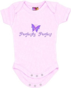 """Perfectly Perfect"" Pink Bodysuit/Onesie"