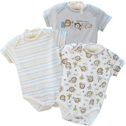 Little Lion 3-Piece Organic Cotton Bodysuit Set by Organically Grown