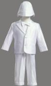 White Satin Christening Baptism Tuxedo