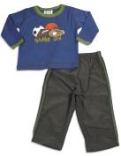 Mis Tee V-Us - Infant Boys Long Sleeve Nylon Pant Set