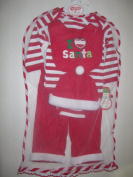 Babygear Unisex-baby Newborn I Love Santa 5 Piece Set In Tulle Bag