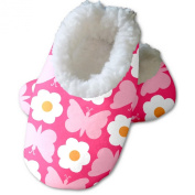 Snoozies Baby's Floral Butterfly Footies