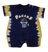 Indiana Pacers NBA Infants Sleeper Onesie Jersey Romper, Tie Dye